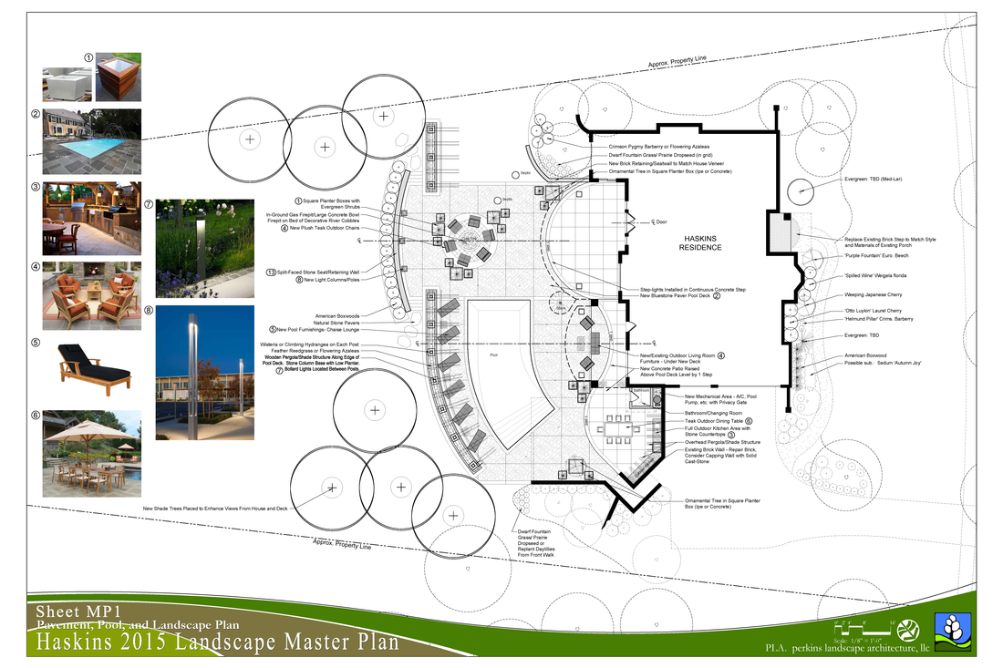 Residential design perkins landscape architecture llc for Residential landscape plan